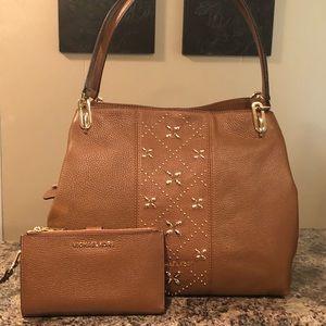 Michael Kors Leighton handbag & wallet